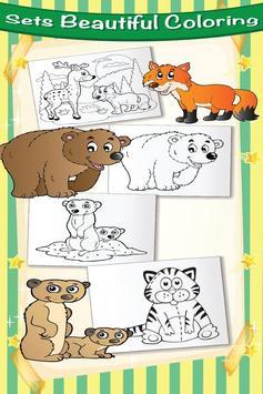 Farm Animal Villege Color Book screenshot 2