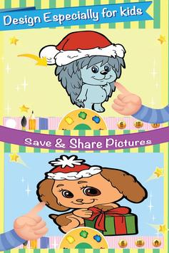 Cute Pet Kit Cat Dog Coloring screenshot 1