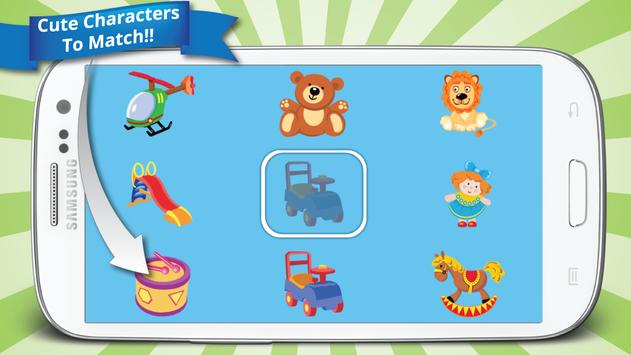 Kid's Matching Game screenshot 1