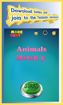 Animals Boom - Free Match 3 Puzzle Game screenshot 16