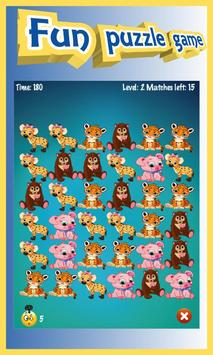 Animals Boom - Free Match 3 Puzzle Game screenshot 2