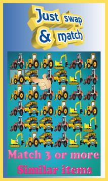 Car Boom - Free Match 3 Puzzle Game poster