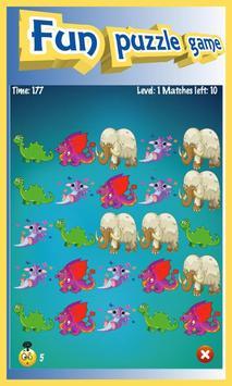 Dino Boom - Free Match 3 Puzzle Game apk screenshot