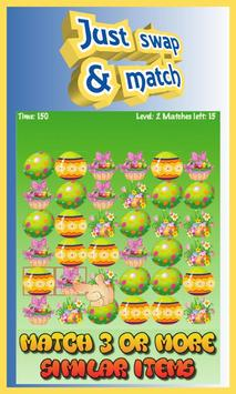 Easter Boom - Free Match 3 Puzzle Game screenshot 1
