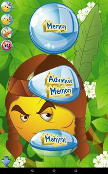 Emoji Games 4 kids free poster