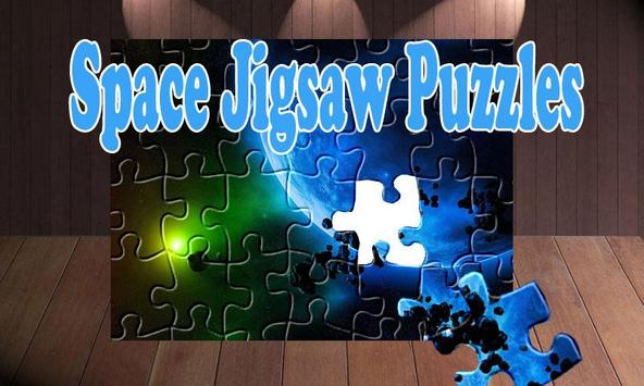 Galaxy Space Effects: Puzzles poster