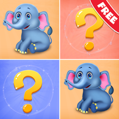 Zoo Memory Puzzle For Kids icon