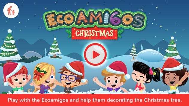 Ecoamigos Christmas poster