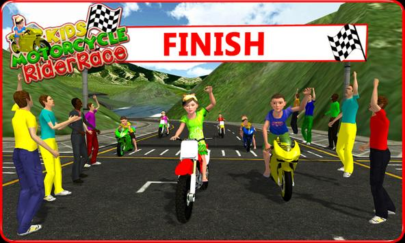 Kids MotorBike Rider Race 3D screenshot 4