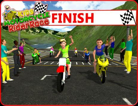 Kids MotorBike Rider Race 3D screenshot 9