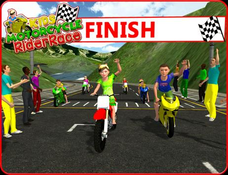 Kids MotorBike Rider Race 3D screenshot 9