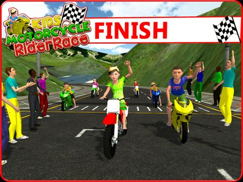 Kids MotorBike Rider Race 3D screenshot 14