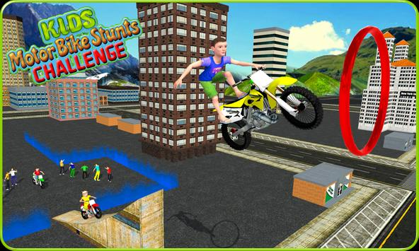 Kids MotorBike Roof Top Stunts poster
