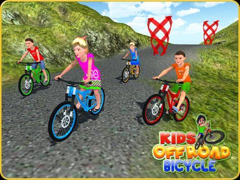 Kids OffRoad Bicycle Free Ride apk screenshot