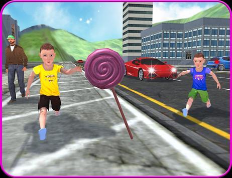 Kids Bicycle Candy Collection apk screenshot