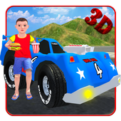 Kids Toy Car Game Simulator 3D icon