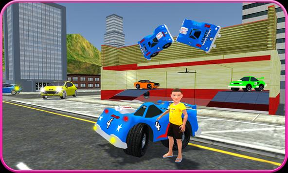 Kids Toy Car Game Simulator 3D poster