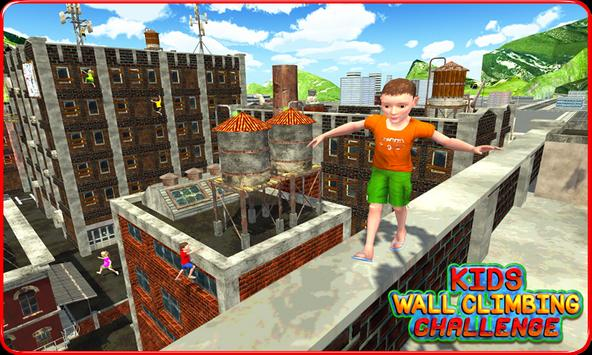 Kids Wall Climbing Challenge apk screenshot