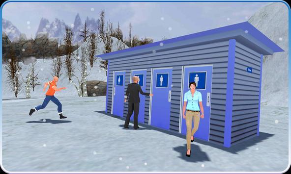 OffRoad Toilet Rush Emergency screenshot 2