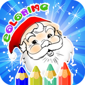 Christmas Coloring Books icon