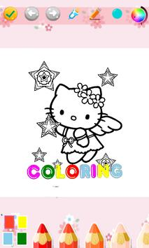 Kids Coloring Book For Kitty Cat screenshot 3