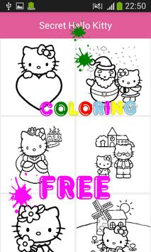 Kids Coloring Book For Kitty Cat screenshot 4
