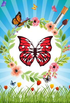Butterfly - Coloring book screenshot 1