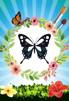 Butterfly - Coloring book screenshot 2