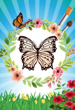 Butterfly - Coloring book screenshot 3