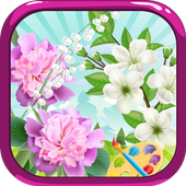 Flower - Coloring icon