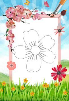 Flower - Coloring apk screenshot