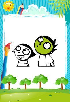 Green Kids - Coloring book screenshot 3