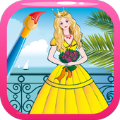 Princesse - Coloring book icon