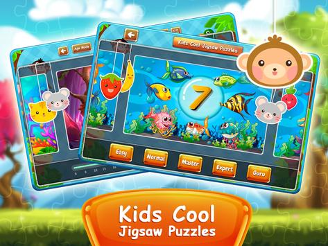 ... Kids Cool Jigsaw Puzzles apk screenshot ...