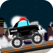 Police Car Game for Kids icon