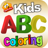 Kids ABC Coloring icon