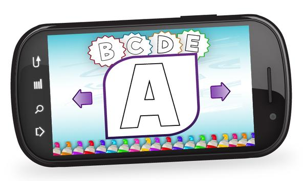 Kids ABC Coloring apk screenshot