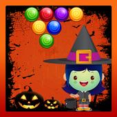 Kids Bubble Shooting Halloween icon