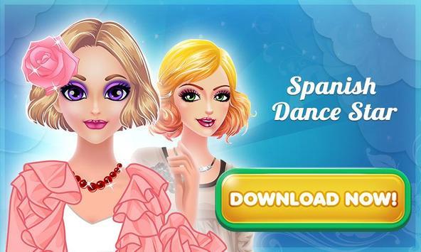 Spanish Dance Star Makeup screenshot 6
