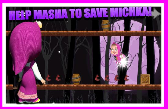 Masha Adventure run apk screenshot