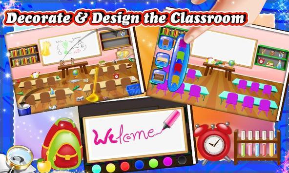 Kids Teacher Classroom Story screenshot 1