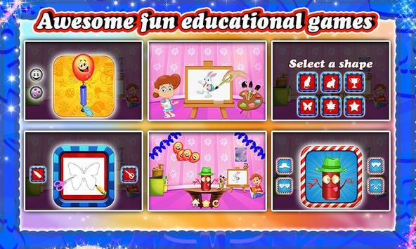 Kids Teacher Classroom Story screenshot 2