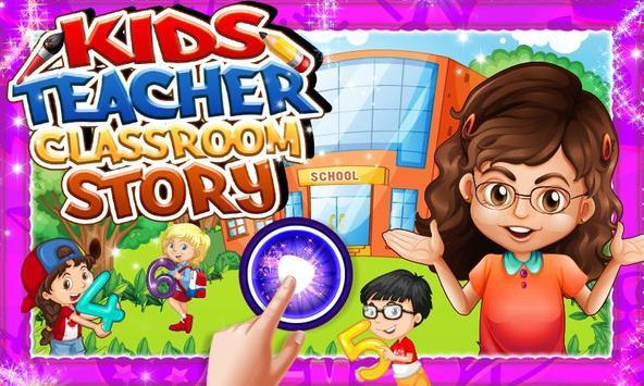 Kids Teacher Classroom Story screenshot 3