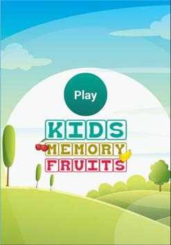 Kids Memory Fruits poster