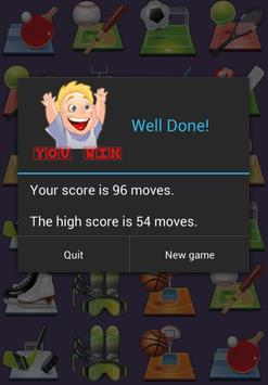 Kids Memory Fruits apk screenshot