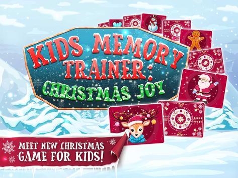 Kids Memory Trainer: Christmas Joy poster