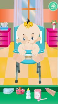 Newborn Sister Hospital Care poster