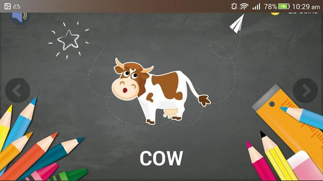Tap & Pronounce Animals Sounds For Kids screenshot 2
