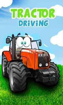 Kids Tractor driving games पोस्टर