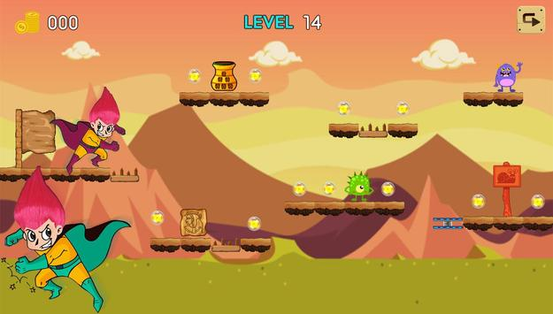 Troll Boy Jungle Trolls 👾 apk screenshot